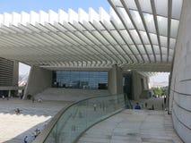 Театр Qingdao грандиозный Стоковое фото RF