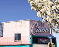 Театр Rochester кино стоковое изображение rf