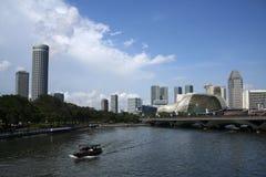 театр singapore реки esplanade Стоковые Изображения RF