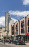 Театр Snowdon стоковое фото rf