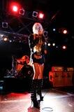 Тейлор Momsen, frontwoman довольно безумных диапазона и актрисы тв-шоу девушки сплетни, выполняет на Razzmatazz Стоковое фото RF