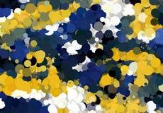 Текстура абстрактного искусства Красочные круглые диски цветастая текстура современное художественное произведение цифрово предст Стоковое Фото