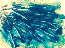 Текстура абстрактной акварели красочная Стоковые Фотографии RF
