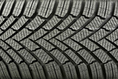 Текстура автошины автомобиля Стоковая Фотография RF
