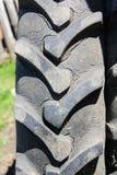 Текстура автошины трактора Стоковое Фото