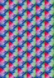 Текстура акварели на белой бумаге Стоковые Изображения