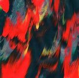 Текстура акрила Уникально предпосылка impasto покрашенная рукой стоковое изображение rf