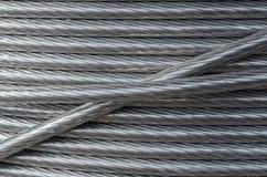 Текстура алюминиевого провода Стоковое Изображение RF