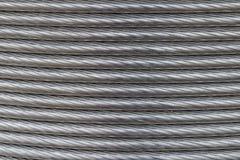 Текстура алюминиевого провода Стоковая Фотография