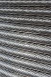 Текстура алюминиевого провода Стоковое Фото