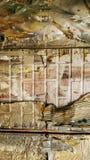 Текстура, алюминиевый фюзеляж и заклепки, старое wal стоковое фото rf