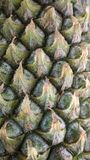 текстура ананаса предпосылки красивейшая естественная Стоковые Изображения