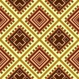 текстура Африки безшовная Стоковая Фотография