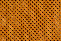 Текстура бамбука сплетя с отверстиями Стоковые Изображения RF