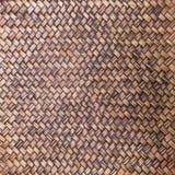 Текстура бамбукового weave Стоковая Фотография