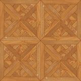 Текстура безшовного пола деревянная Стоковые Изображения RF