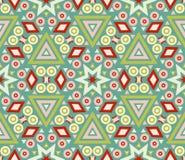 Текстура безшовной картины геометрическая Стоковое фото RF