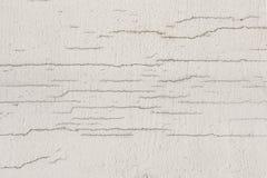 Текстура белой пакостной треснутой стены Малые прямые отказы Сразу трещиноватость на покрашенной поверхности Борозда блока клеток Стоковое Изображение RF