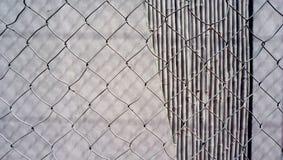Текстура бетонной стены с сеткой Стоковая Фотография RF