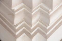 Текстура белизны зазубрины стоковая фотография rf