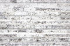 Текстура белых мраморных блоков, яркая каменная стена как backgroun Стоковые Фото