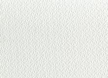 Текстура белых салфетки, предпосылки или текстуры Стоковое фото RF