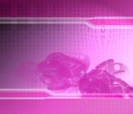 Текстура бинарного Кода стоковое фото