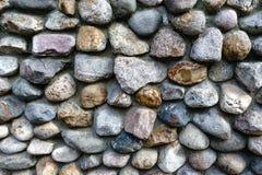 Текстура большого круглого камня Стоковые Изображения