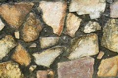 текстура большого гранита части малая каменная Стоковые Изображения