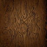 Текстура Брауна темного деревянного изображения вектора бесплатная иллюстрация