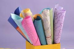 текстура бумаги ручного черпания Стоковые Изображения