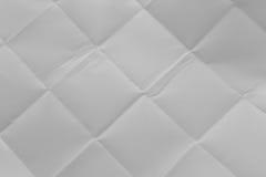 Текстура бумаги скомканной створкой Стоковые Изображения