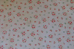 Текстура бумаги стены как предпосылка Стоковые Фото