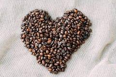текстура близкого кофе горизонтальная вверх Стоковое Фото
