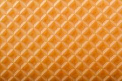 Текстура вафли Стоковая Фотография