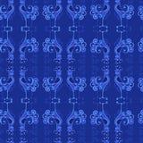 Текстура вектора безшовная с картиной петухов Стоковое фото RF
