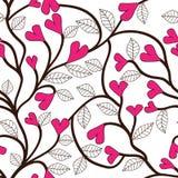 Текстура вектора флористическая безшовная Стоковое Изображение