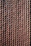 Текстура веревочки Брайна Стоковые Изображения RF