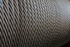 Текстура веревочки провода стоковое изображение