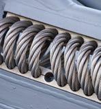 Текстура веревочки провода Стоковое Изображение RF