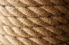 Текстура веревочки Стоковое фото RF