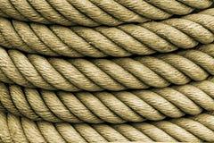 Текстура веревочки Стоковая Фотография