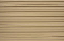 Текстура двери штарки стальная Стоковое фото RF