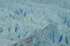 Текстура верхней части ледника Perito Moreno стоковые изображения rf