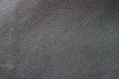 Текстура винтажного конца-вверх неподдельной кожи, черного цвета Для романтичной предпосылки, фон, субстрат, польза состава Стоковое Изображение RF