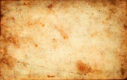 Текстура винтажного grunge старая бумажная как предпосылка Стоковая Фотография RF