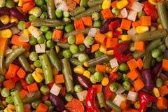 Текстура вкусных свежих овощей Стоковые Изображения RF