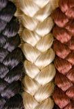 текстура волос Стоковая Фотография RF