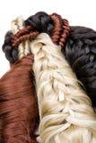текстура волос Стоковая Фотография