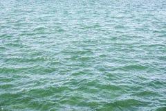 Текстура воды бирюзы Стоковые Изображения RF